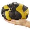 Nordisk Oscar +10° Sleeping Bag XL mustard yellow/black